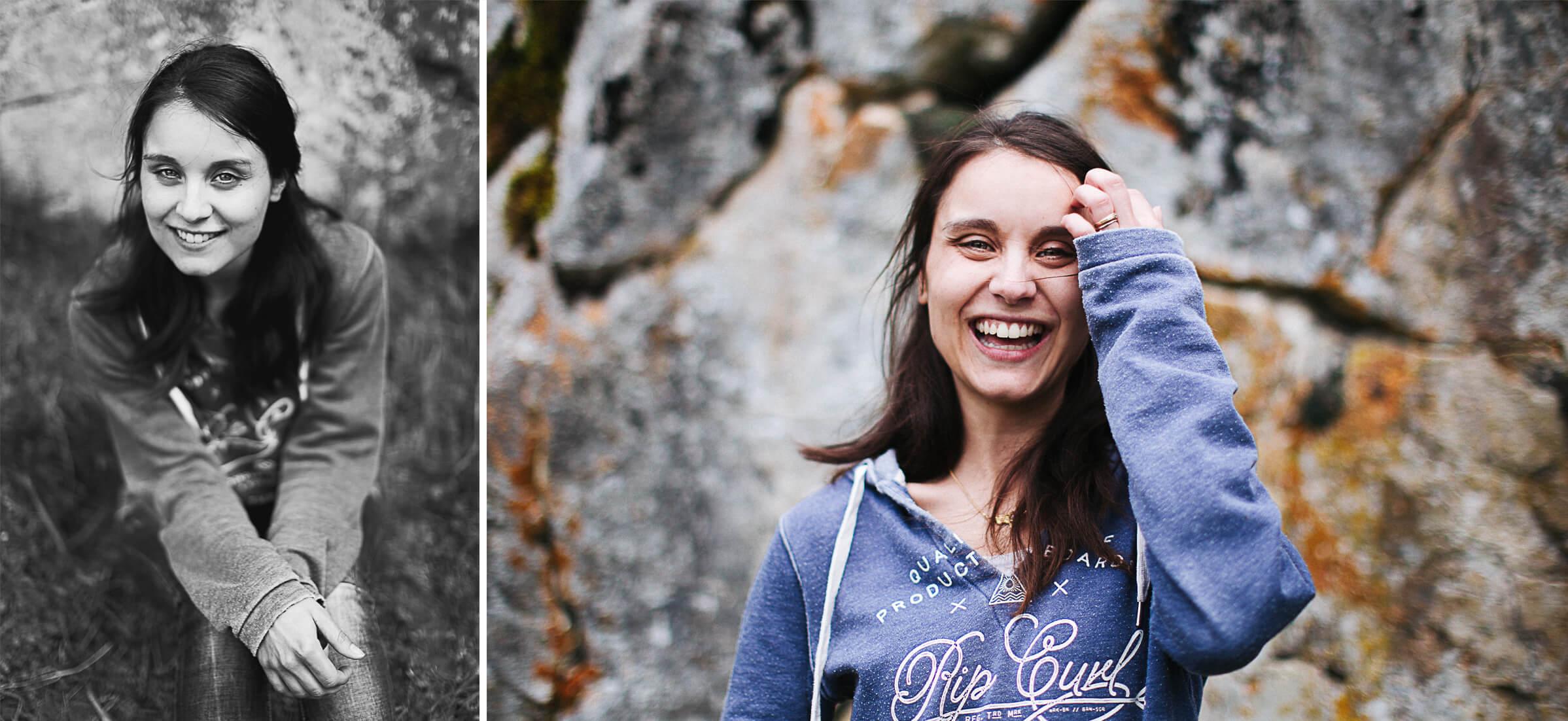 14 - Portrait naturel et plein de vie