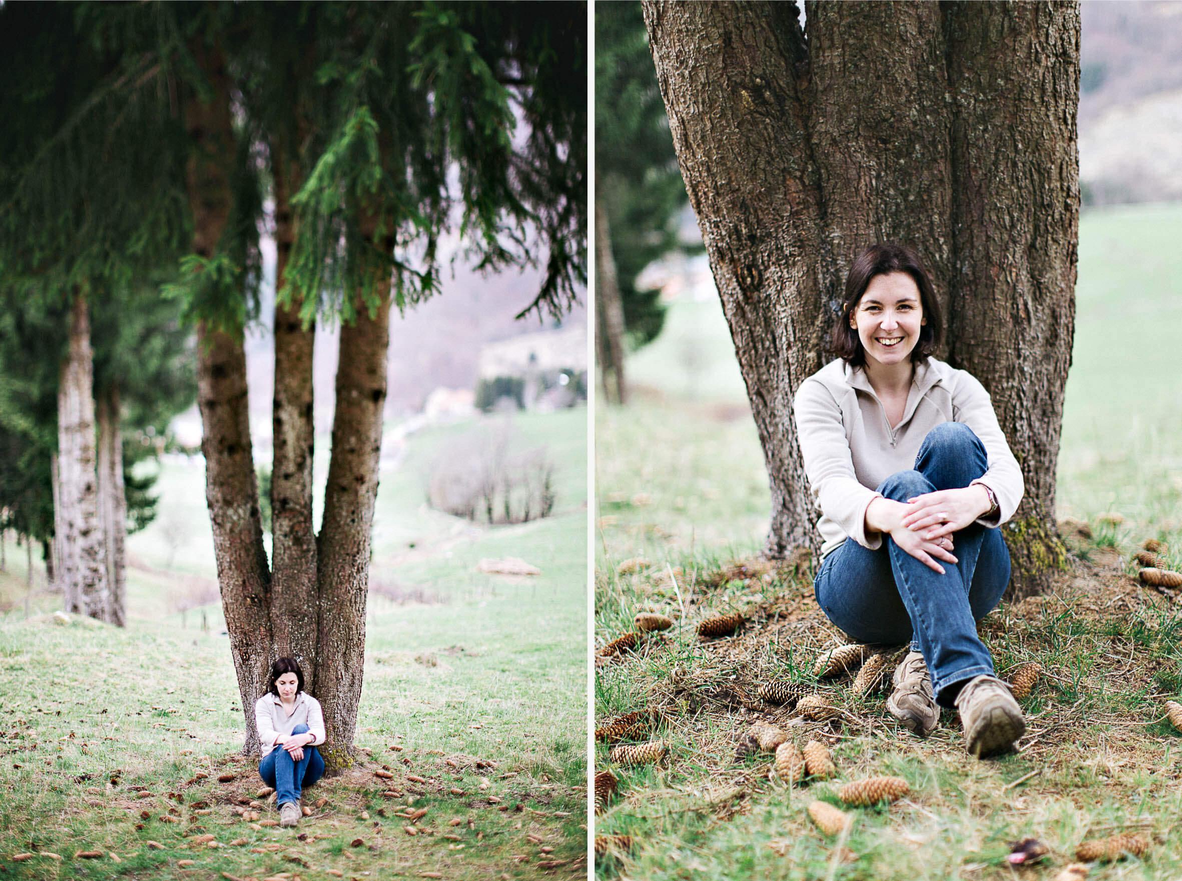 15 - Portrait emilie arbre